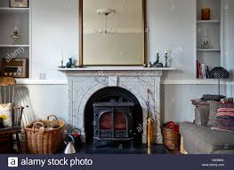 victorian marble fireplace stock photos u0026 victorian marble