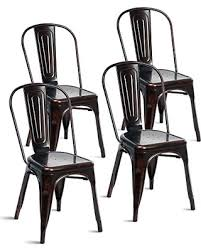 Tolix Bistro Chair Sweet Deal On Merax Indoor Outdoor Use Tolix Style Distressed