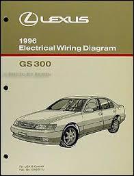 1996 lexus gs300 1996 lexus gs 300 wiring diagram manual original