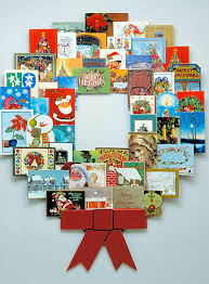 christmas christmas card wreath holder book ideas to make metal