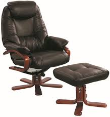 Burgundy Leather Chair And Ottoman Recliner Leather Chair Recliner Chairs