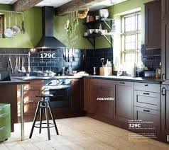 cuisine brun cuisine ikea le meilleur de la collection 2013 côté maison