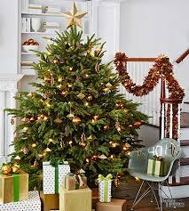 buy brown christmas tree how to put lights on a christmas tree