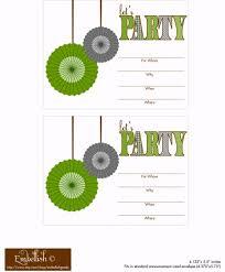 create free printable birthday invitations choice image