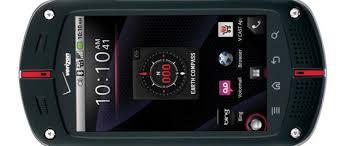 Rugged Smartphone Verizon Wireless Lands Casio G U0027zone Commando Rugged Smartphone