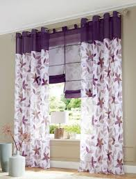 Patterned Window Curtains Free Shipping European Style Pattern Printed Eyelet Window