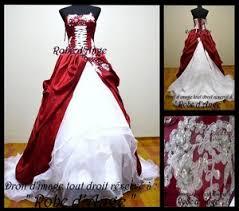 robe mari e bordeaux robe de mariée bordeaux et blanche boutique robe d ange wifeo