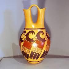 Black And Red Vase Jean Sahme Hopi Potters