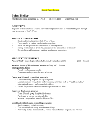 Cook Sample Resume Ministry Resume New 2017 Resume Format And Cv Samples