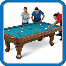 7 Foot Pool Table Eastpoint Sports 87 Inch Brighton Billiard Pool Table Walmart Com