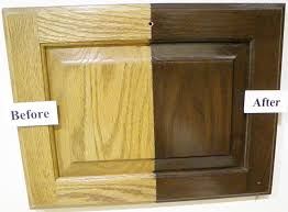 Staining Kitchen Cabinets Without Sanding Refinish Oak Cabinets Darker Roselawnlutheran