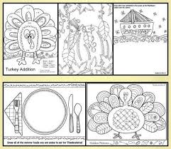 free thanksgiving activity book great pictures to color