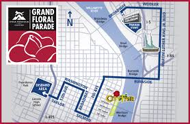 Thanksgiving Parade Map Grand Floral Parade Will Have A New Route For 2017 Oregonlive Com