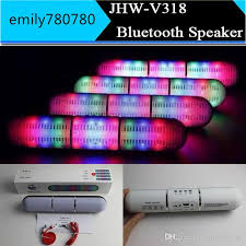recessed lighting bluetooth speaker new pulse pills led flash lighting jhw v318 portable wireless