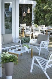 table de jardin haut de gamme mobilier et salon de jardin grosfillex