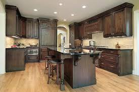 pictures of black stained kitchen cabinets stained wood corbels wood kitchen cabinets