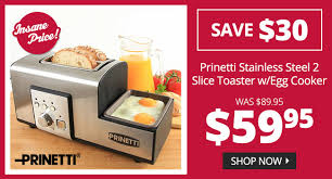 Toaster With Egg Maker Dealsdirect Insane Prices Save Upto 225 On Best Selling
