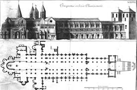 Gothic Church Floor Plan by Romanesque Architecture What Ideas Made Medieval Art