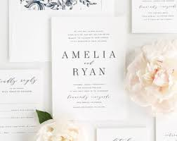 wedding invitations etsy wedding invitation etsy