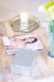 coffee table styling lush to blush