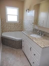 corner tub under window diy small narrow bathroom bathroom