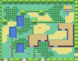 safari zone map firered and leafgreen maps