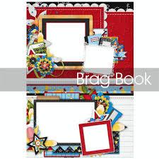 5x7 brag book digital scrapbooking kits school 5x7 brag book jsscrap