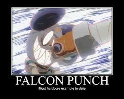 Falcon Punch Meme - king kazma falcon punch by draconichero18 on deviantart