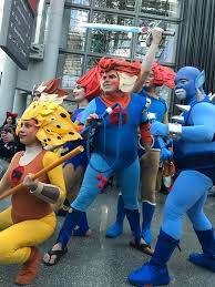 thundercats halloween costumes i was there new york comic con 2016 three man booth