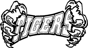 coloring pages of tigers tigers team text and hand coloring page wecoloringpage