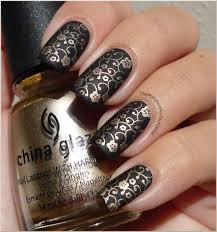the 25 best black gold nails ideas on pinterest gold sparkle