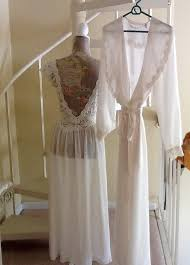 peignoir sets bridal vintage secrets bridal set with tags sz m