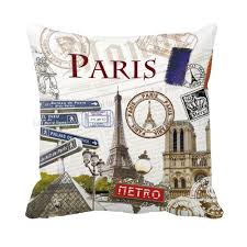 retro london paris new york city series euro style vintage cushions for sofa home decor custom jpg