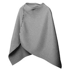 design house stockholm pleece poncho light grey hus u0026 hem