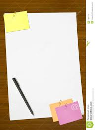 colored writing paper colored memo and white blank note paper royalty free stock royalty free stock photo