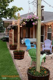 Best 25 Pebble Patio Ideas On Pinterest Landscaping Around by Create An Inexpensive Patio Using Large Pavers And Gravel