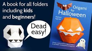 origami for halloween book a great gift idea for kids beginners