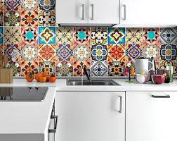 credence autocollant cuisine stickers pour carrelage mural cuisine autocollant carrelage mural in