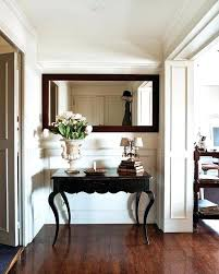 foyer accent table entryway table and mirror mirror design