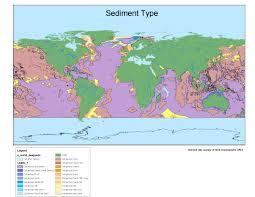 Map Types Sediment Types