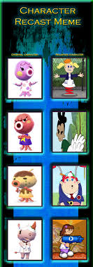 Animal Crossing Villager Meme - animal crossing villagers recast meme 2 by hershey990 on deviantart