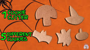 how to make halloween cookies w just one cookie cutter come