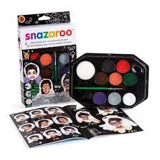 halloween makeup kits amazon com snazaroo face paint palette kit halloween