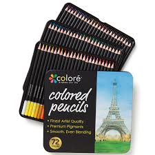 these are amazing soft core colored pencils with a rich color