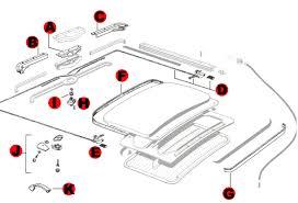 vw bug sunroof components 1964 1967 vw parts jbugs com