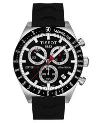 tissot black friday tissot men u0027s swiss chronograph prs 516 black rubber strap watch