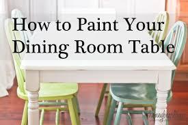 Painted Kitchen Tables Painted Kitchen Table Top Ideas Brokeasshome Com