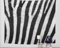 Giraffe Print Home Decor Zebra Print Decor Etsy