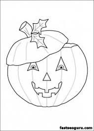 halloween pumpkins coloring kids printable coloring