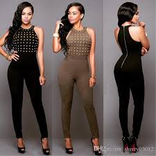 jumpsuit for 2017 drilling jumpsuits for hight collar strapless
